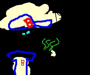 homer's smelly finger