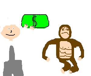 Einstein buys a monkey