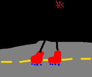 Rollerblade Road Rage