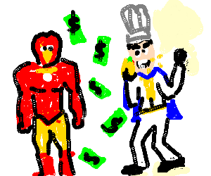 Iron Man, Iron Chef Money