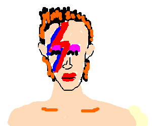 Ziggy Stardust has moved on!