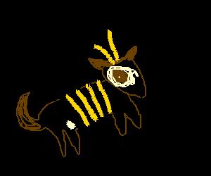 Bee Dog barking