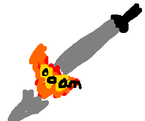 Topsy-Turvy Sword Explosion