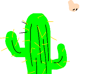 Cactus wants a nose