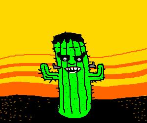 Frankencactus.