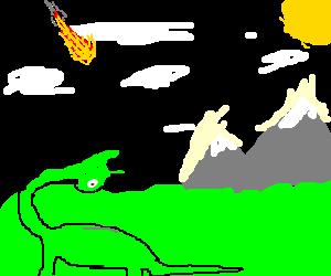 meteor makes dinosaurs extinct