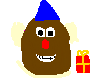 Birthday Potato