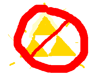 No triforce allowed