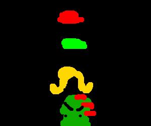 Mario Party 15: Human Totem Pole