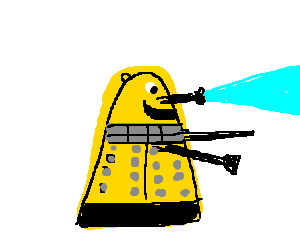 Dalek is happy to exterminate you!