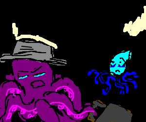 Octopus Squid Love