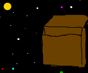 Box 1 in space