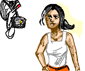 Portal 2: Glados and Chell