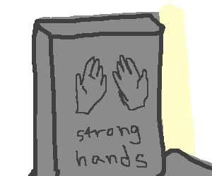 These were strong hands