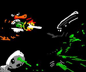 pingu, alien hunter