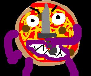 melted barney the dinosaur pizza hybrid attacks
