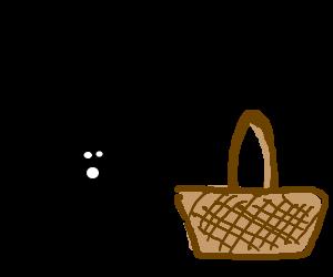 Man nearly crushed by falling picnic basket