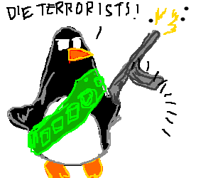 Penguin forms redundant anti-terrorist group