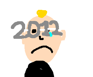 """guy disappointed by """"glasses 2012"""""""
