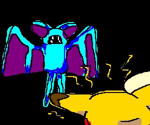 Bat vs. Poke: Battle of the mons