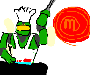 Master Chief the master chef