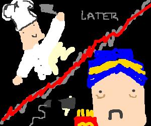 Masterchef opens a fast food restaurant