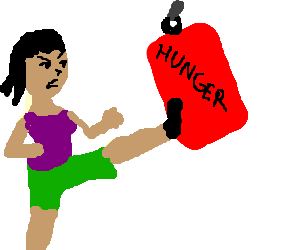 This is Hunger!!! *kick*