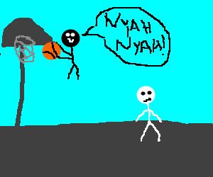 White stickmen can't jump