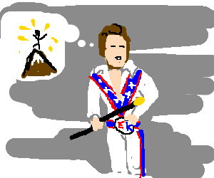 Evel Kineval thinks he's so great