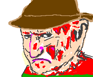 Freddy Krueger needs a hug