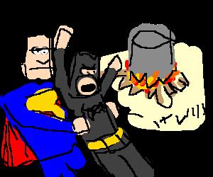 STOP BATMAN COOKING SOUP