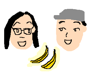 skrillex meets his brother for bannanas