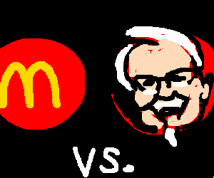 mcdonalds vs kfc; who will win?