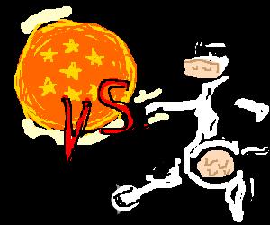 Dragonball vs. Matrixcow