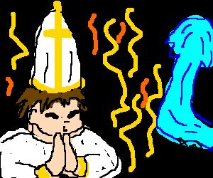 priest deflects Kamehameha