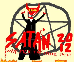 Satan for President!