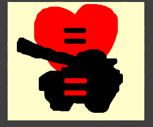 Equal love and war?