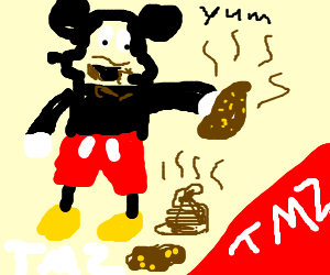 Tmz finds dirt on mickey mouse - Mickey mouse stool ...