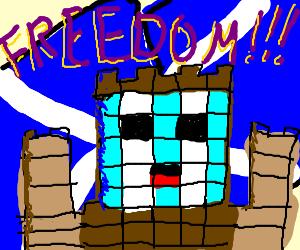 Lego interpretation of William Wallace