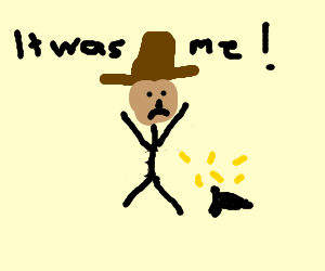 Cowboy takes the obvious blame for his actions