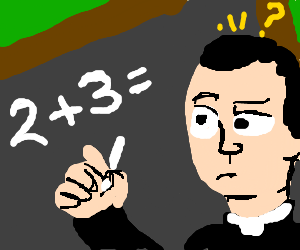 Priest has poor understanding of simple math.