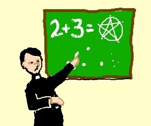 priest is confused over mathematics sums