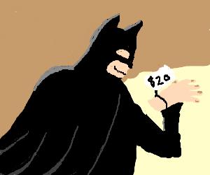 Batman buys new hands