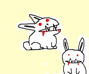 Rabbits from Monty Python