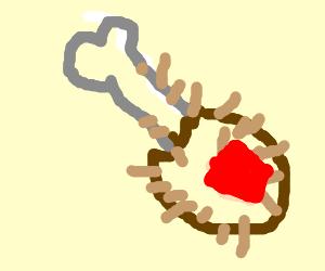 Lotsofphil is a Diamondy Hairy Turkey Leg