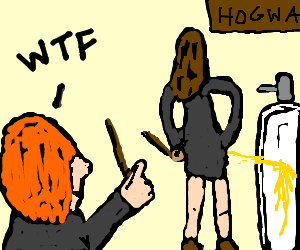 Hermione's hiding a terrible secret from Ron