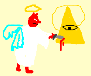 Gangster Devil infiltrated as angel kills God