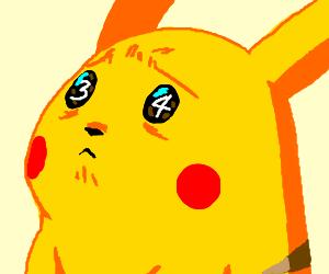 Pokemon Pikachu Discovers Rule 34 on web site
