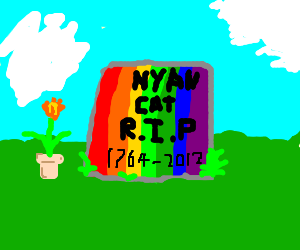 Rip Nyan Cat Drawception