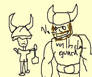 Wimpy Viking tries to earn place in Valhalla